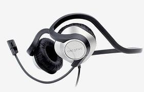 Creative HS-420 On Ear Headphones worth Rs.1999 for Rs.494 @ Tatacliq