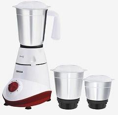 Inalsa Swift 500 Watt 3 Jars Mixer Grinder for Rs.1199 @ Tatacliq