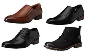 Saddle & Barnes Men's Leather Shoes (International Brand) – Min 50% Off @ Amazon