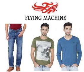 Flying Machine Men's Clothing – Flat 70% Off @ Shopclues