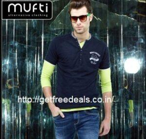 Mufti Men's Clothing – Flat 68% off starts Rs. 404 @ TataCliq