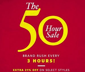 Myntra 50 Hrs Sale – Min 30% Off + Extra 21% Off on Select Styles