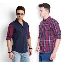 Men's Popular Brand Formal & Casual Shirts under Rs.599 @ Flipkart
