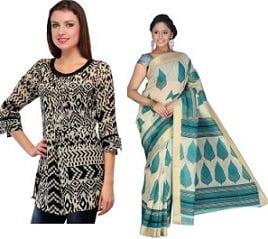 Women Clothing (Saree, Tops, Lingerie, Kurta & more) below Rs.399
