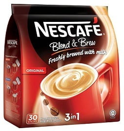 Nescafe Blend & Brew 3 In 1 Instant Coffee Powder 500 gm worth Rs.699 for Rs.399 @ Snapdeal