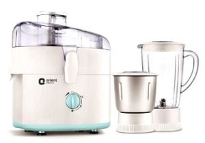 Orient JMKK45B2 450 Watt 2 Jar Juicer Mixer Grinder worth Rs.3899 for Rs.1626 @ Snapdeal
