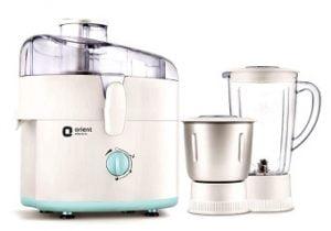 Orient JMKK45B2 450 Watt 2 Jar Juicer Mixer Grinder worth Rs.3899 for Rs.1626 @ Snapdeal