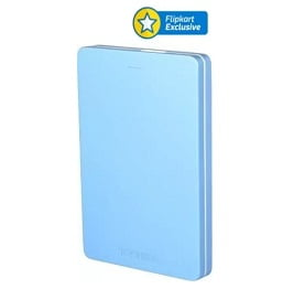 Steal Deal: Toshiba Canvio Alumy 2 TB Wired External Hard Disk Drive for Rs.4,999 @ Flipkart (with SBI Card Rs.4,499)