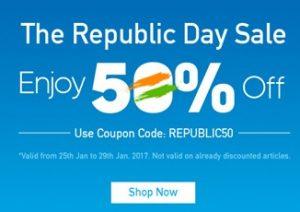 Bata Republic Day Sale – Enjoy Flat 50% Off