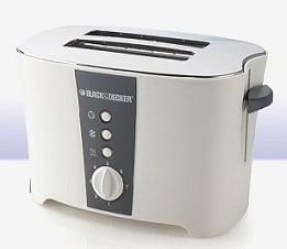 Black & Decker ET122 2 Slice Pop-Up Toaster (White) worth Rs.2595 for Rs.294 @ Tatacliq