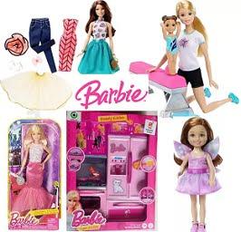 Steal Deal: Barbie Dolls & Barbie Houses – Flat 50% – 70% Off @ Flipkart