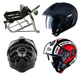 Motor Bike Helmets – Upto 40% Off @ Amazon