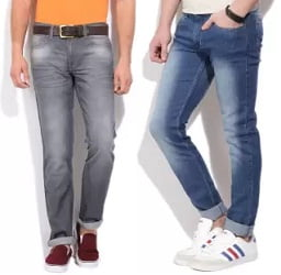 Jeans & Trouser Under Rs.999 from Lee, Wrangler & more