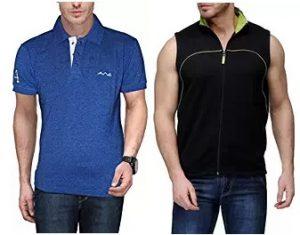 Min 50% Upto 80% Off on Men's Clothing (AWG & Scott) starts Rs.179 @ Amazon