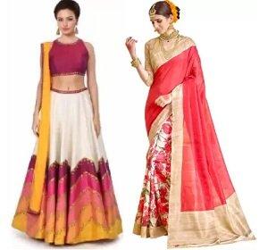 Women's Clothing up to 80% Off : Banarasi Silk Saree   Kanjivaram Sarees   Wedding Collection   Lehnga Choli @ Flipkart