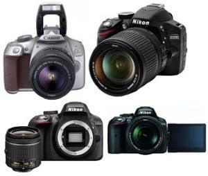 Upto 30% Off on DSLR Cameras From Nikon & Canon starts Rs.20999 @ Flipkart