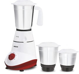 Inalsa Swift 500-Watt Mixer Grinder with 3 Jars for Rs.1399 @ Amazon + 10% Cashback (Limited Period Offer)