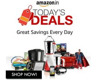 Amazon Lightning Deal – Upto 80% Off on Computer, Mobile, Clothing, Kitchen, Footwear, Home Essentials, Groceries