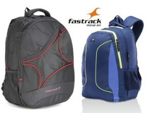 Fastrack Backpacks: Upto 50% Off + Buy 2 Get 10% off, Buy 3 Get 15% off @ Flipkart