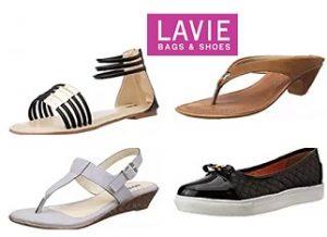 Lavie Women Footwear – Flat 70% Off starts from Rs.299 – Amazon