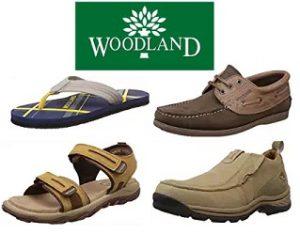 Woodland Shoes & Sandals: Minimum 50% Off @ Amazon