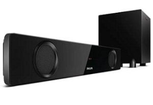 Philips HTL1041 40 W Bluetooth Soundbar with Subwoofer for Rs.4,999 – Flipkart