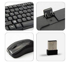 Zebronics Wireless Keyboard and Mouse Companion 6