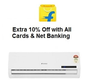 Air Conditioners: Upto 35% Off+ Extra 10% Off All Credit / Debit Cards or Net Banking@ Flipkart