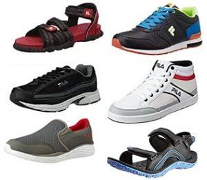 Fila Shoes: Flat 50% – 70% Off @ Amazon