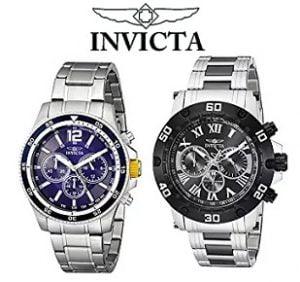 Invicta Watches, Minimum 50% off – Amazon