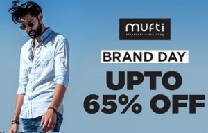 Brand Day Offer: Mufti Clothing upto 65% Off