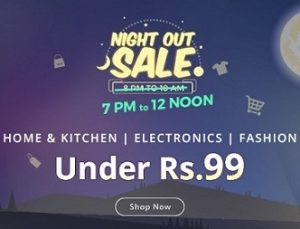 Electronics, Home & Kitchen, Fashion products under Rs.99