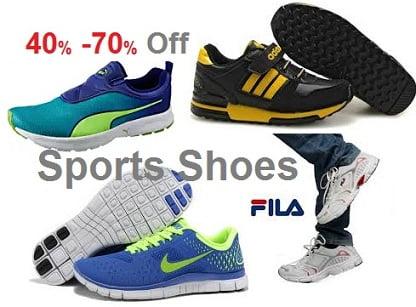 400d28cf515f5 Sports Shoes - Flat 40% - 70% Discount on PUMA | ADIDAS | REEBOK ...