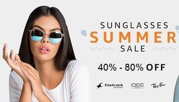 Sunglasses Summer Sale: Upto 80% Off on Rayban, IDEE, Fastrack & more