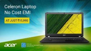 Acer Aspire Celeron Dual Core – (2 GB/500 GB HDD/Linux) NX.GFTSI.021 ES1-533-C1SX Notebook  (15.6 inch, Black) for Rs.14990 – Flipkart