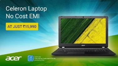 Acer Aspire 3 Celeron Dual Core – (2 GB/ 500 GB HDD/ Windows 10/ 15.6″) A315-33 Laptop for Rs.14,990 – Flipkart
