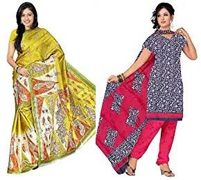 Florence Sarees & Dress Material Minimum 81% off starts Rs.169 – Amazon