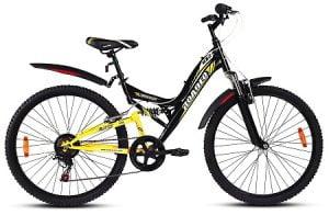 Hercules Roadeo UX2 1FG204U0885000A Road Cycle (Black, Yellow) worth Rs.11190 for Rs.6299 – Flipkart