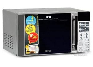 IFB 20 L Convection Microwave Oven  (20SC2, Silver) for Rs.8,290 – Flipkart