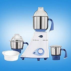 Preethi Blue Leaf Diamond 750 Watt Mixer Grinder for Rs.3,599 @ Amazon