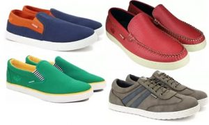 Casual Shoes (Flying Machine, UCB, Levi's) – Min 30% off – Flipkart