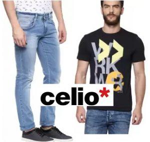 Celio Men's Clothing – upto 73% off – Flipkart