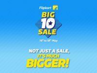 Flipkart Big 10 Sale (Live till 18th May)