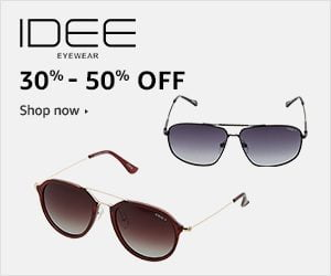 IDEE Sunglasses – Flat 30% to 50% off @ Amazon