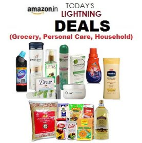 Deep Discounted Lightning Deal on Grocery, Personal Care, Household essentials – Amazon