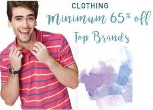 Men's Top Brands Clothing – Minimum 65% off – Amazon
