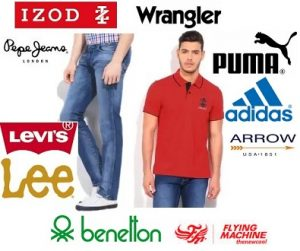 Top Brand Men's Clothing – Minimum 50% off + 10% Extra off @ Flipkart