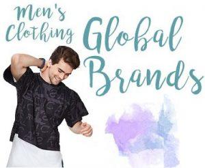 Men's Global Brand Clothing – Minimum 50% off – Amazon