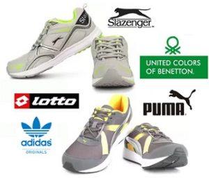 PUMA, UCB, Lotto, Slazenger Shoes – Minimum 65% Off – Flipkart