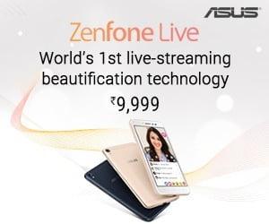 Asus Zenfone Live (16 GB, 2 GB RAM)